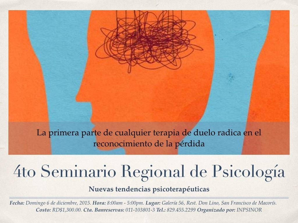 4to seminario INPSINOR 2015