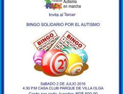 Bingo autism marcha